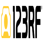 123RF Technology Logo